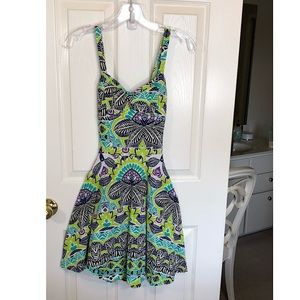 Aeropostale Floral Criss Cross Sundress in size S